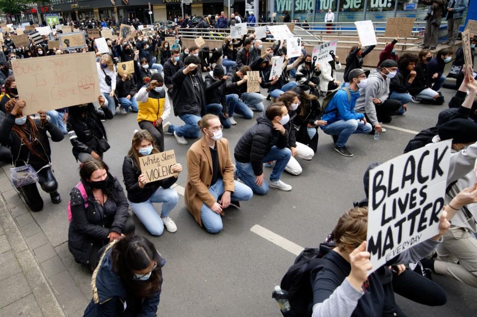 Demonstration gegen Rassismus - Düsseldorf