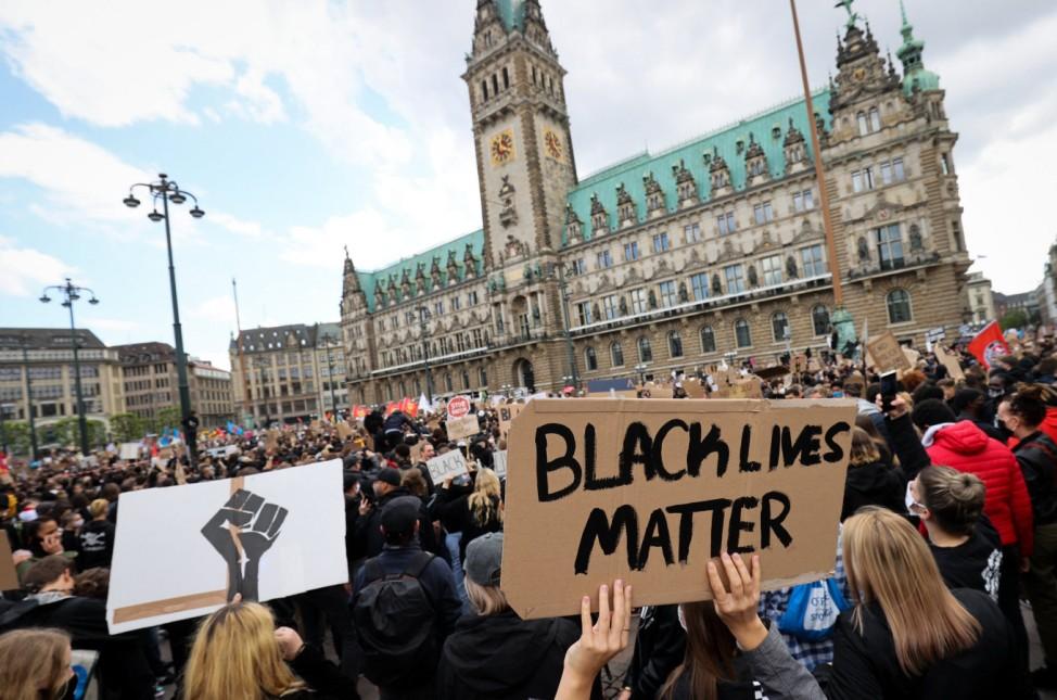 Demonstration gegen Rassismus · Hamburg