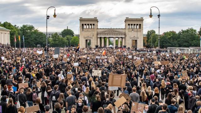 Demonstration gegen Rassismus · München