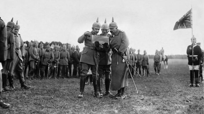 Kaiser Wilhelm II. an der Westfront, 1916