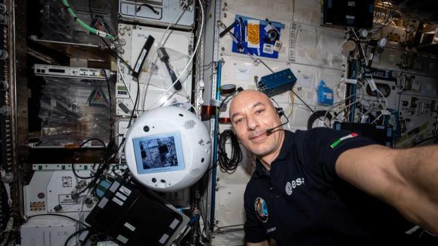 Cimon 2, ISS