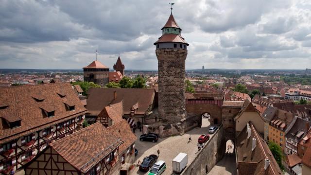 Wanderfalke brütet wieder auf Nürnberger Kaiserburg
