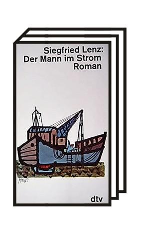 """Historie: Siegfried Lenz: Der Mann im Strom. Hoffmann und Campe 1957 (hier die dtv-Ausgabe 1963). Lenz (1926 bis 2014) gehört zu den wichtigsten deutschen Autoren nach 1945. Die Reihe """"Deutschlandreise"""" besucht Schauplätze der Literatur oder alter Reiseführer."""