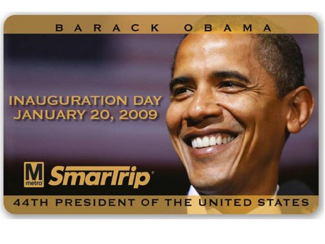 Barack Obama Das Geschäft mit der Vereidigung Foto: Giesecke & Devrient GmbH