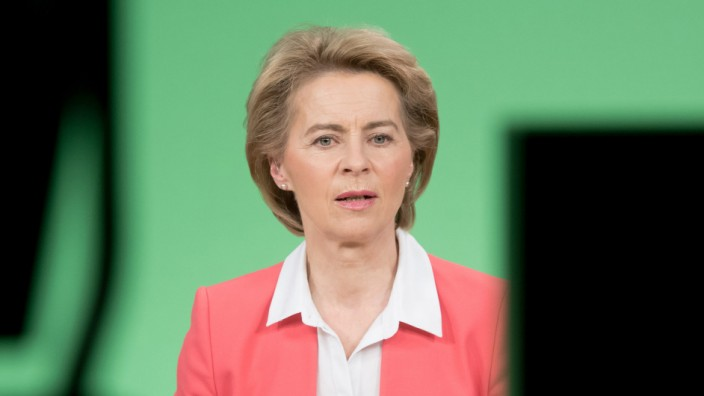 EU-Komissionspräsidentin Ursula von der Leyen