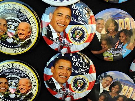 Barack Obama Das Geschäft mit der Vereidigung Foto: AFP