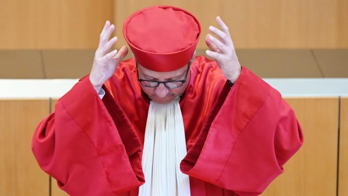 Die Europäische Zentralbank überschreite mit ihren Anleihekäufen ihre Kompetenzen, urteilte das Bundesverfassungsgericht im Mai 2020 - damals noch unter dem Vorsitz von Andreas Voßkuhle.