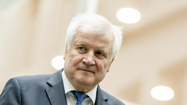 October 16, 2018 - Berlin, Germany - German Interior Minister Horst Seehofer holds a press conference to comment the re