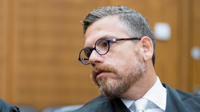Alleged Swiss Spy Goes On Trial In Frankfurt, Frankfurt Am Main, Germany - 18 Oct 2017