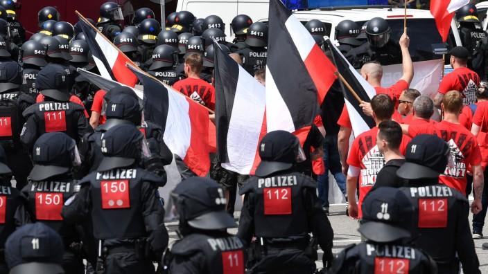 Demonstrationen in Chemnitz