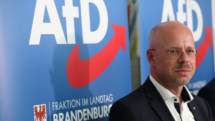 News Themen der Woche KW21 News Bilder des Tages Andreas Kalbitz (parteilos, bisheriger AfD-Landes- und Fraktionschef) s
