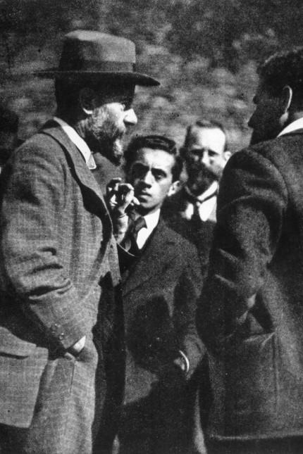 Max Weber in Lauenstein / Foto 1917