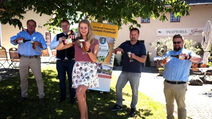 ATTENKIRCHEN: BIERPRÄSENTATION - Attenkirchener Festivalbier ab sofort erhältlich