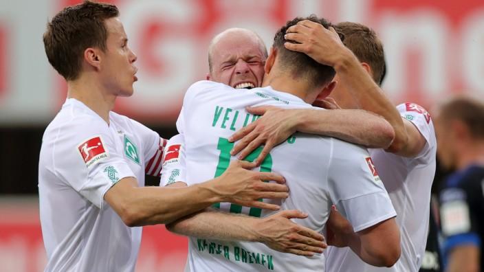 SC Paderborn 07 - Werder Bremen