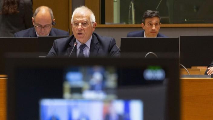 Informelle Videokonferenz der EU-Außenminister