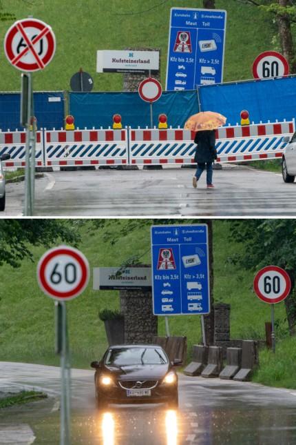 Coronavirus - Aufhebung der Reisewarnung - Grenze zu Österreich