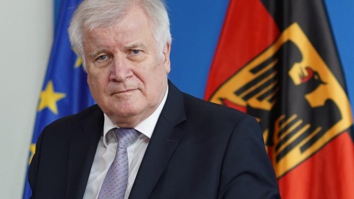 Flüchtlinge: Bundesinnenminister Horst Seehofer (CSU)