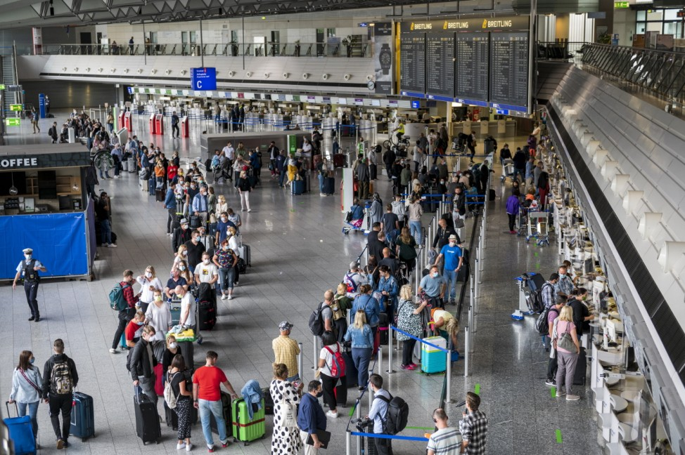 First Tourists Depart For Mallorca During The Coronavirus Pandemic