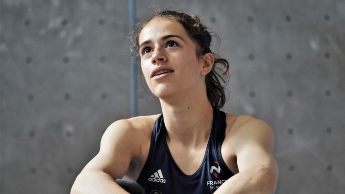 Klettern: Luce Douady, Junioren-Weltmeisterin im Bouldern 2019