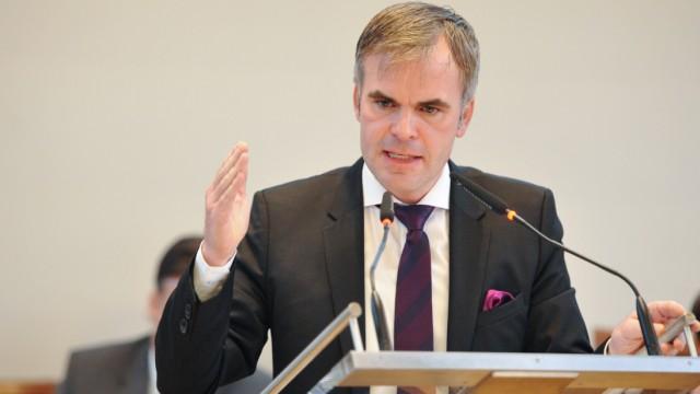 Christoph Frey bei Haushaltsdebatte im Münchner Stadtrat, 2019