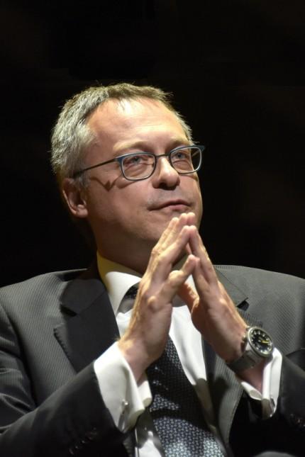 Italy, Milan Carlo Bonomi President of Confindustria since 20 May 2020 In the photo: Carlo Bonomi President of Confindus