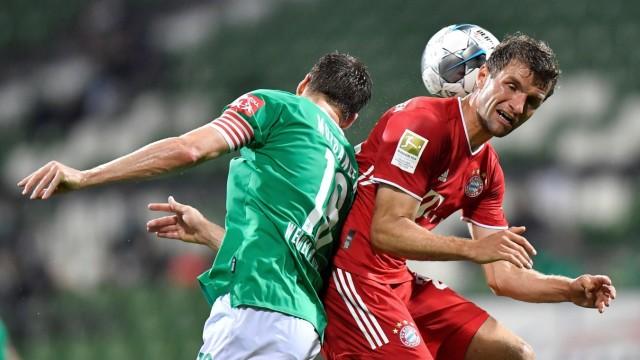 Bundesliga: Spiel zwischen Werder Bremen und Bayern München