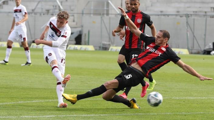 16.06.2020 - Fussball - Saison 2019 2020 - 2. Fussball - Bundesliga - 32. Spieltag: SV Wehen Wiesbaden SVWW - 1. FC Nür