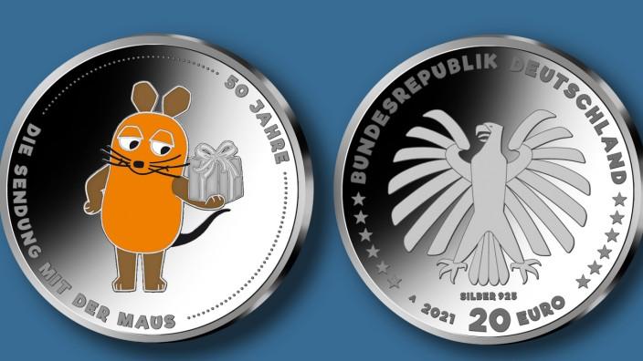 Große Ehrung für den WDR: Die Maus bekommt eigene Geldmünze