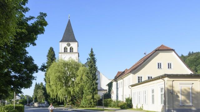 monastery Kloster St Zeno Bad Reichenhall Germany Oberbayern Upper Bavaria