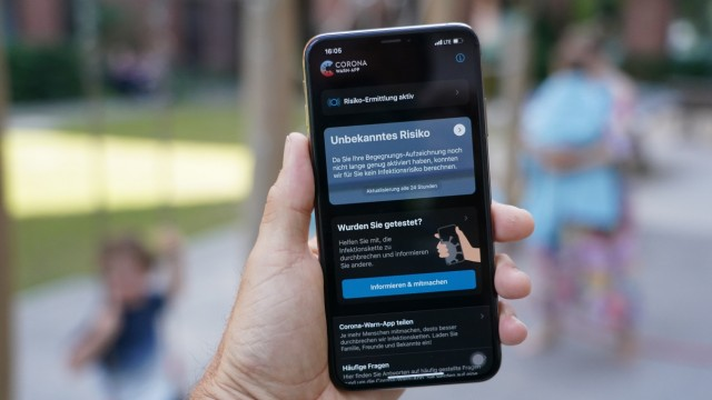 Germany Launches 'Corona-Warn' Covid-19 Tracking App