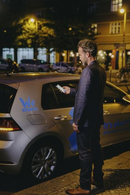 Thema Carsharing, Copyright: Volkswagen, Online-Rechte frei.