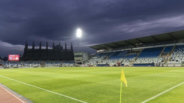 November 17, 2019, Pristina, Pristina, Kosovo: A general view (GV) of Fadil Vokrri Stadium before the UEFA EURO, EM, Eur; Pristina, Kosovo, Fußball