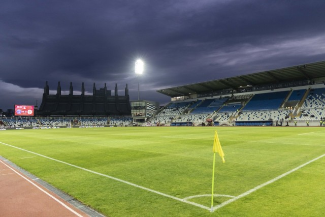November 17, 2019, Pristina, Pristina, Kosovo: A general view (GV) of Fadil Vokrri Stadium before the UEFA EURO, EM, Eur; Pristina, Kosovo, Fußball