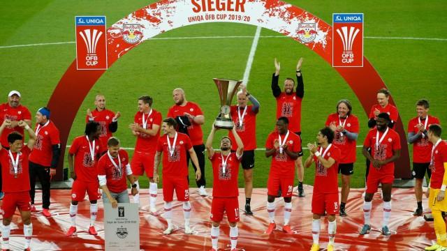 Pokalfinale: RB Salzburg - Austria Lustenau