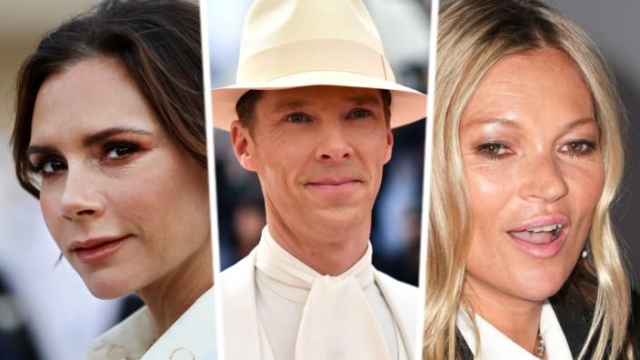 Victoria Beckham, Benedict Cumberbatch, Kate Moss