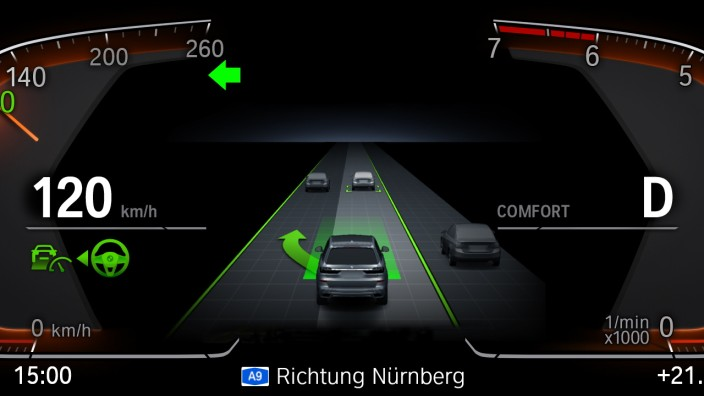 BMW Driving Assistant Professional