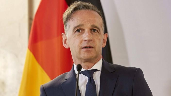 - Wien 18.06.2020 - Heute zu Mittag gaben der österreichische Aussenminister und sein deutscher Amtkollege im Aussenmin