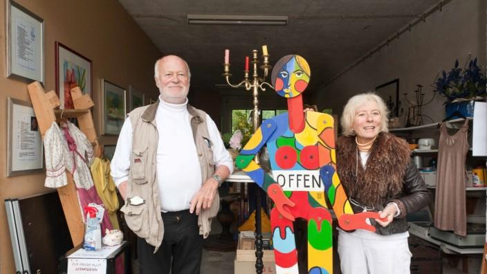 Kultur: Die Theatermacher Karlheinz Thomas und Haide Sanders.