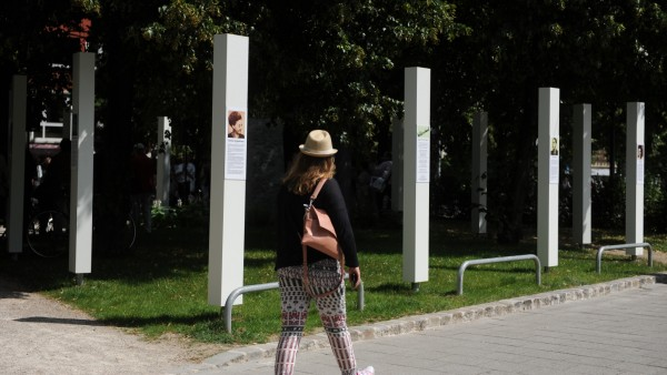 Neuhausen Gedenkstelen NS-Opfer