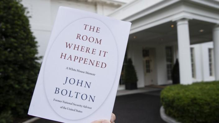 """US-Gericht: """"The Room Where It Happened: A White House Memoir"""" soll in der kommenden Woche veröffentlicht werden."""
