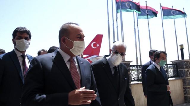 Türkische Regierungsdelegation zu Gesprächen in Libyen