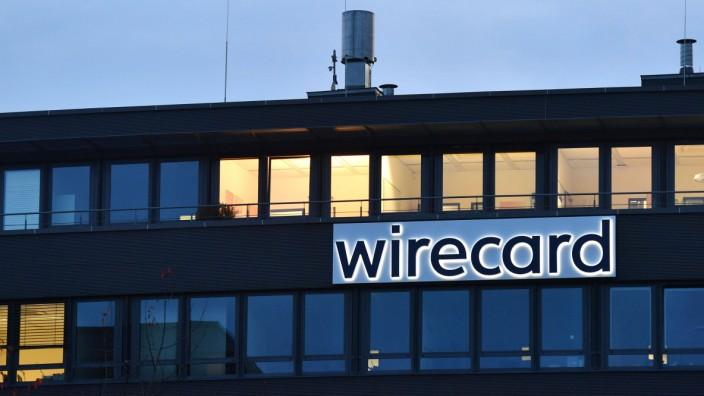 Zahlungsabwickler Wirecard legt mehrfach verschobene Bilanz vor. Archivfoto: wirecard Logo, Firmenemblem,Schriftzug ,Geb