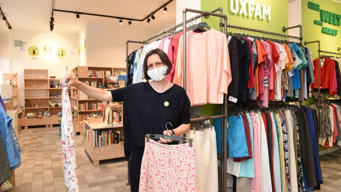 Oxfam Laden Coronavirus München