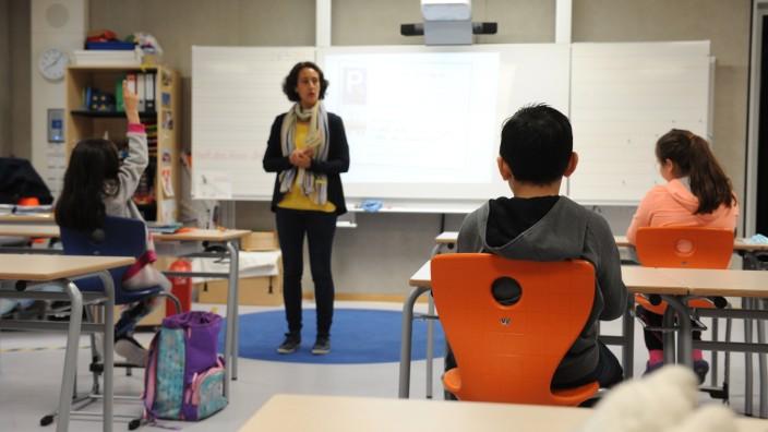 Rückkehr der Grundschüler in München nach der Corona-Zwangspause, 2020