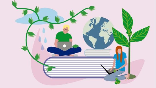 Nachhaltiges Studienmodell: Illustration: Stefan Dimitrov