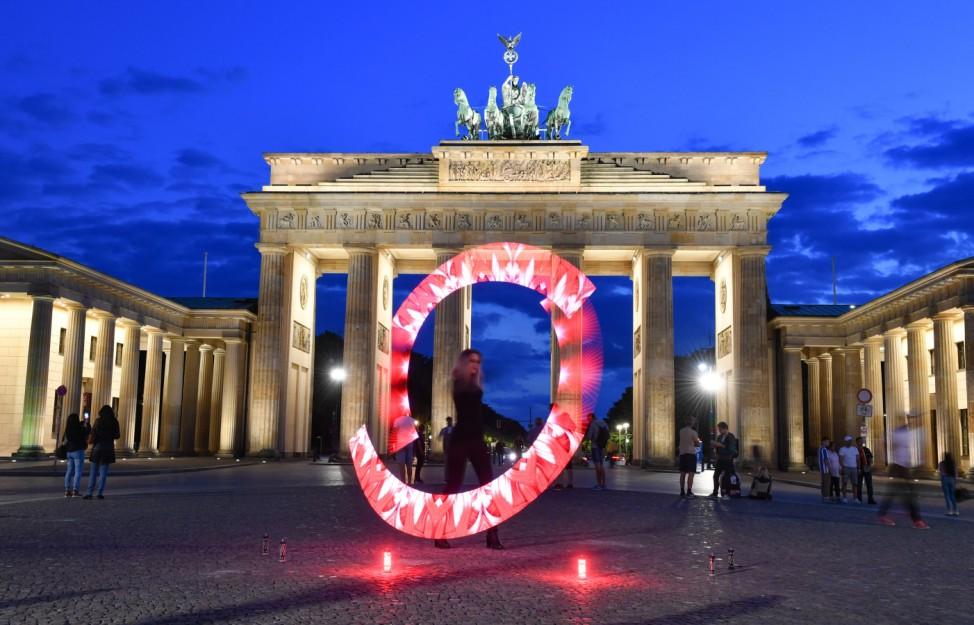 """Aktion ´Night of Light"""" - Berlin"""