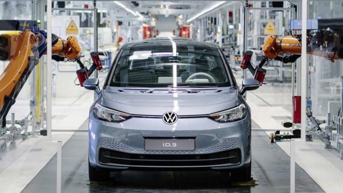 Volkswagen ID 3 - Workshop bei VW Sachsen