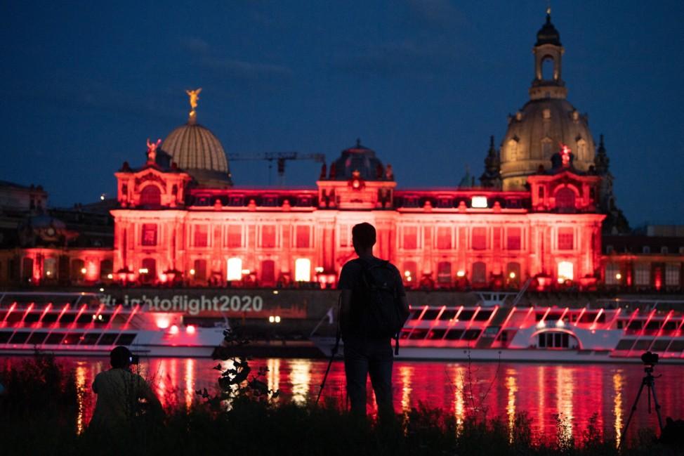 Aktion 'Night of Light' - Dresden