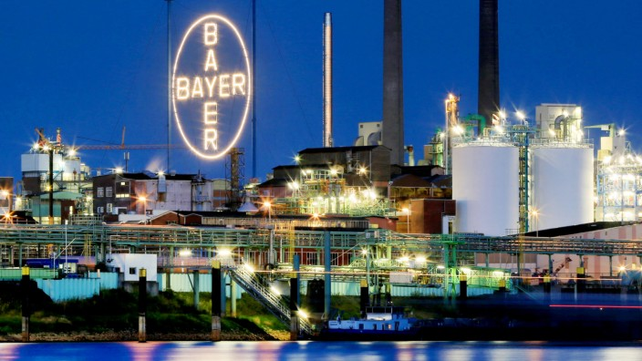 Bayer Werk in Leverkusen