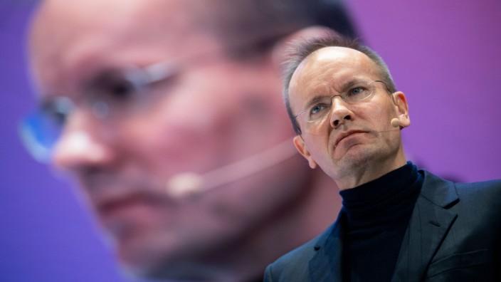 Wirecard-Chef Markus Braun spricht während der Innovationskonferenz DLD 2020 in München